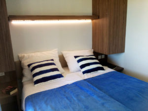 Bedroom in KS Holiday Suite mobile house, Jezera, Murter, Dalmatia, Croatia