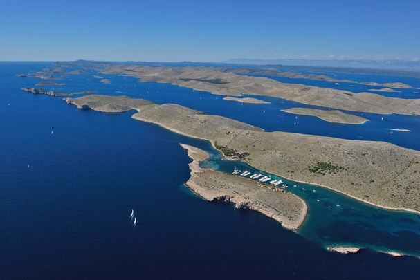 You can also visit Kornati national park nearby